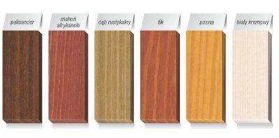 Drzwi zewnętrzne - Jedwabisty blask drewna - Drewnochron Lazura