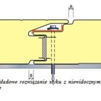 Lekkie przegrody z płyt warstwowych – warianty mocowania