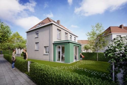 Projekt RenovActive: Projekt budynku jednorodzinnego w Brukseli po remoncie