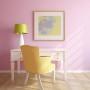 Wnętrze w słodkim stylu retro z podłogą Vanilla firmy Kaczkan