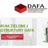 Forum Zielonej Infrastruktury DAFA – 4.02.2016