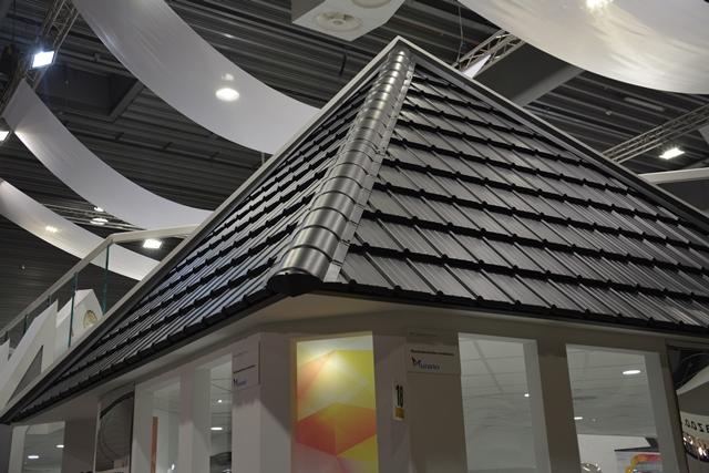 Blachodachówka modułowa Murano firmy BUDMAT. Fot. ABC-MEDIA