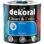 Kolory ścian w najczystszej postaci – nowa farba CLEAN&COLOR marki Dekoral