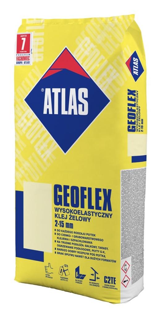 Wysokoelastyczny klej żelowy ATLAS GEOFLEX. Fot. ATLAS