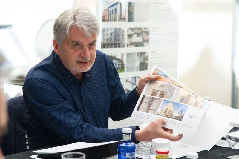 Jury meeting – arch. Piotr Kostka. Fot. Baumit