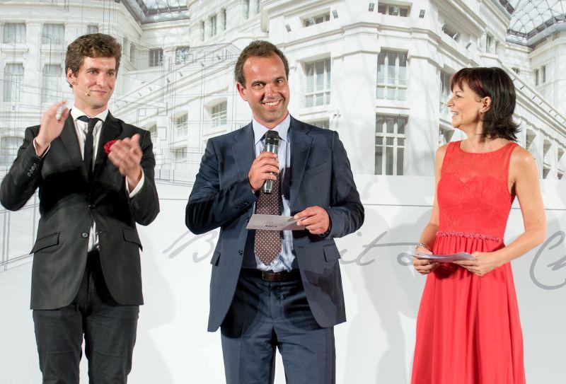 Uroczystą Galę Life Challenge Awards 2016 otworzył i zakończył Robert Schmid – prezes Baumit Beteiligungen GmbH a zarazem pomysłodawca ogólnoeuropejskiego konkursu. Fot. Baumit