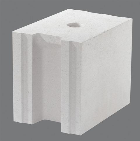 Bloczki silikatowe umożliwiają tworzenie ciepłych i wytrzymałych konstrukcji – SILIKAT N18. Fot. Grupa SILIKATY