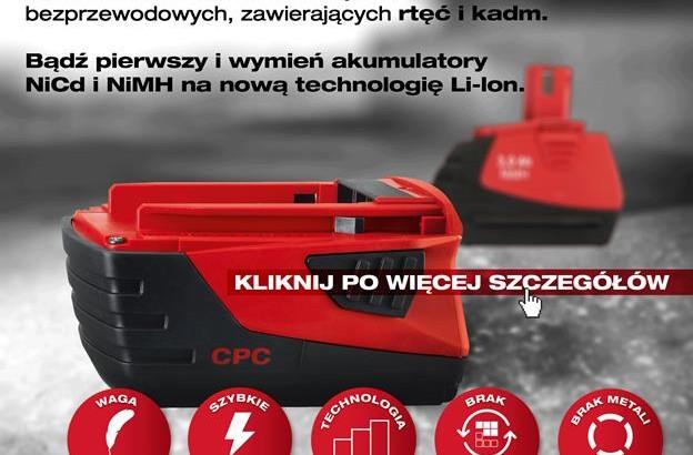 Wymień urządzenia na nowe z Hilti – do 31.12.2016