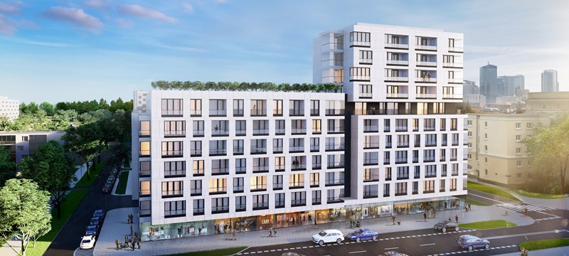 Inwestycja Dzielna 64, którą realizuje firma Ochnik Development na Muranowie. Fot. Ochnik Development
