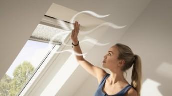 Pierwsza na rynku wentylacja z rekuperatorem do okien dachowych