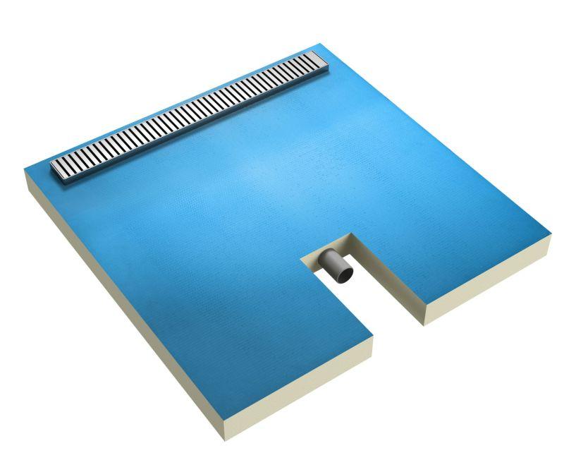 Płyta brodzikowa Ultrament z liniowym odpływem zintegrowanym. Sugerowana cena: od 1100-2000 zł (w zależności od wielkości)