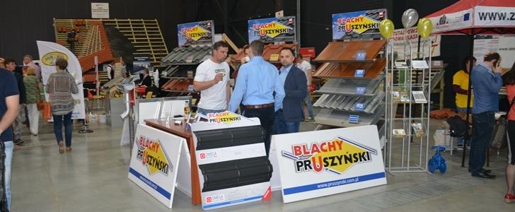 Firma Blachy Pruszyński wsparła pokazy dekarskie PSD w Bydgoszczy. Fot. ABC-MEDIA