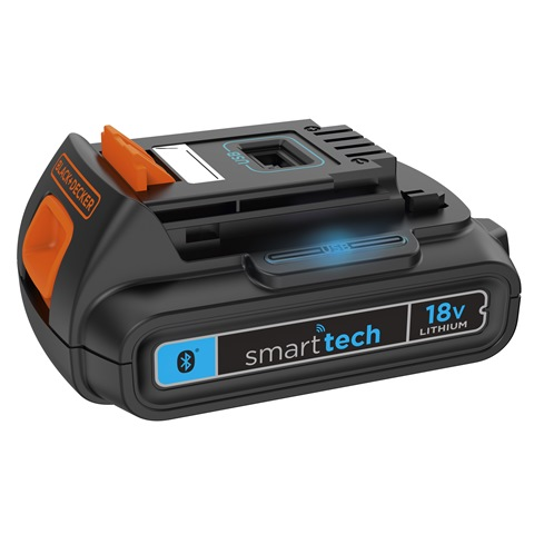 SMART TECH (BL1518ST) -  bateria z systemem inteligentnej technologii. Fot. BLACK+DECKER