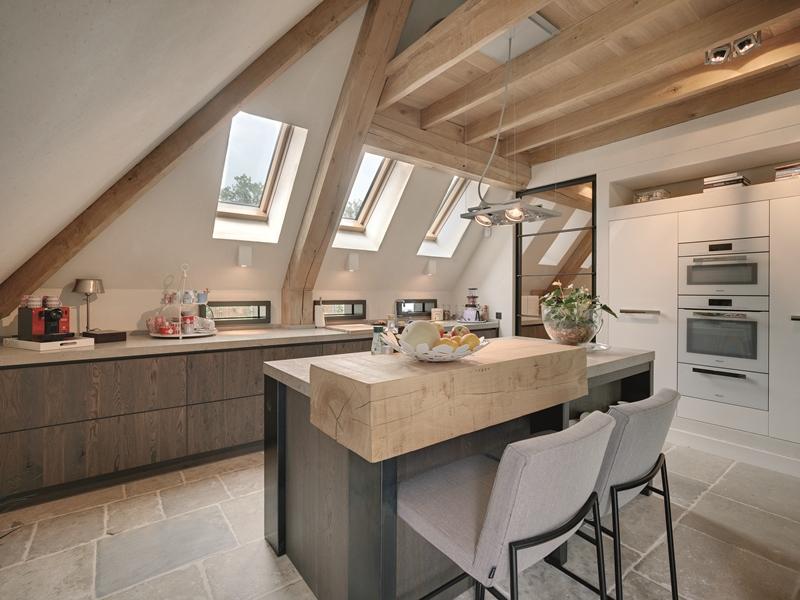 Stosując w kuchni okna o podwyższonej energooszczędności FTT U8 Thermo (U=0,58 W/m2K) spełnimy wymagania najbardziej rygorystycznego budownictwa pasywnego.