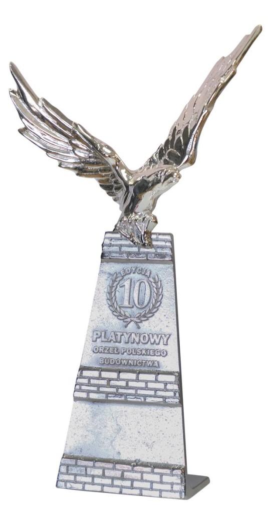 Statuetka Orzeł Polskiego Biznesu przyznana firmie Marchewka Schody - Podłogi - Wnętrza