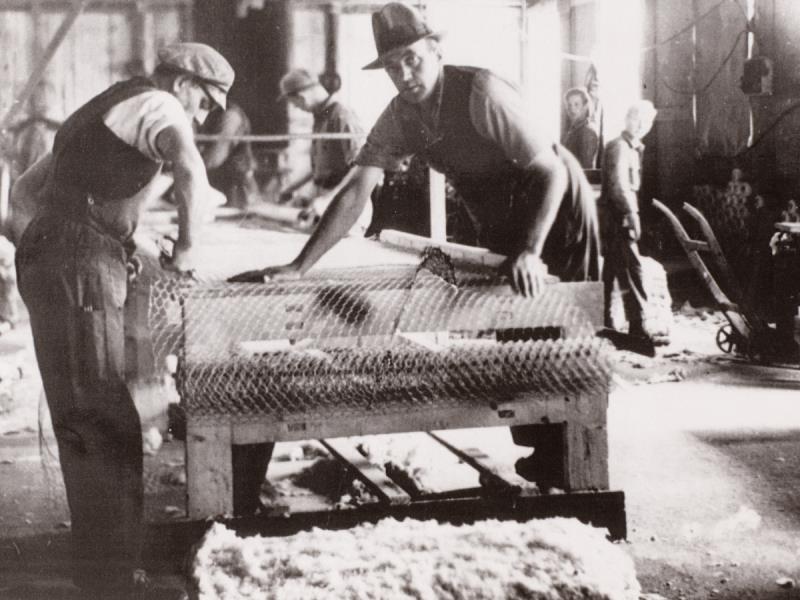 Fabryka Rockwool w 1937 roku. Fot. Rockwool