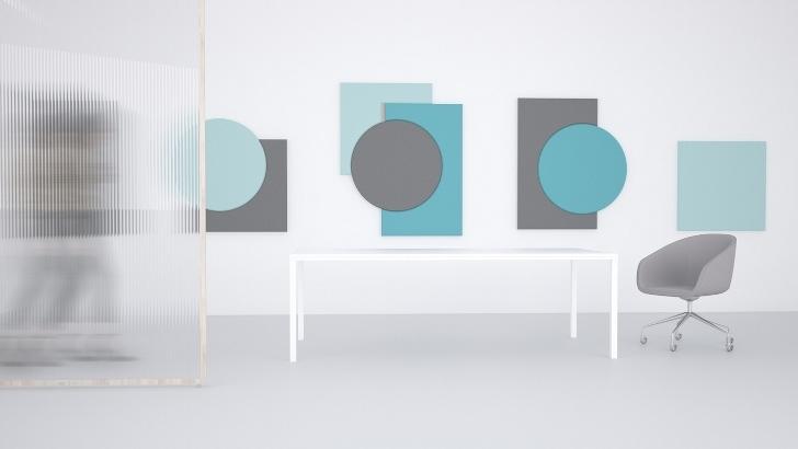 Akustyczne panele ścienne Fluffo Art – nowość na Arena Design