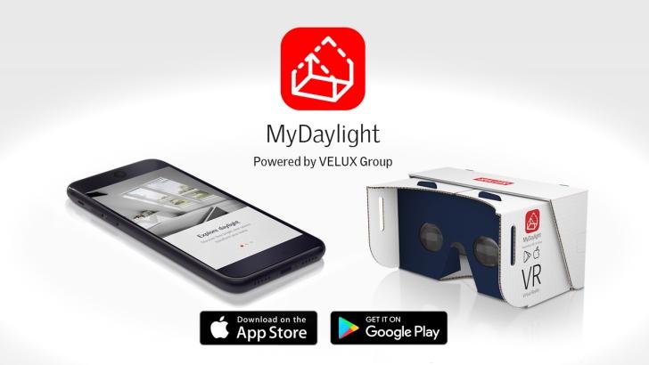 Darmowa aplikacja MyDaylight - do pobrania w App Store i Google Store Fot. Velux
