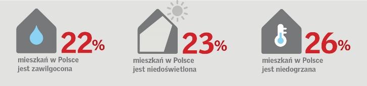 """Źródło: Raport """"Barometr zdrowych domów 2017"""""""