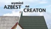 Wymień AZBEST na CREATON! Konkurs wystartował