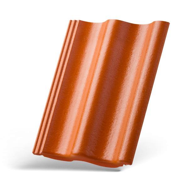 Dachówka Celtycka marki Braas w kolorze ceglanym. Fot. Monier Braas