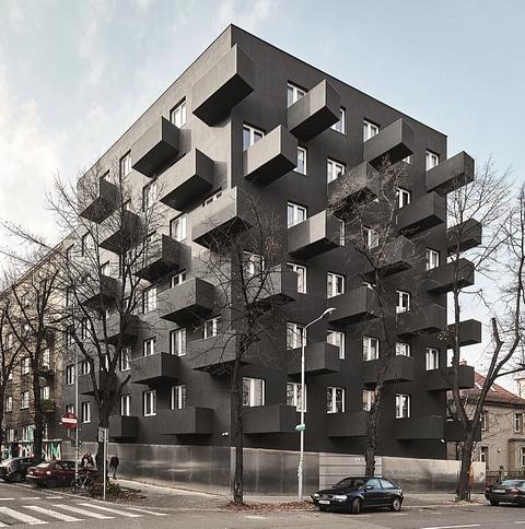 Budynek mieszkalny Unikato w Katowicach. Fot. Wienerberger