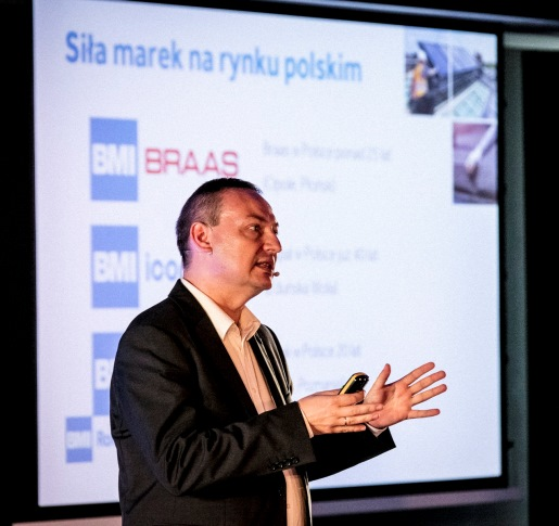 BMI RoofPro został stworzony, aby wspierać i doceniać umiejętności i zaangażowanie dekarzy - mówił Grzegorz Barycki, Dyrektor Handlowy BMI Polska. Fot. BMI Polska