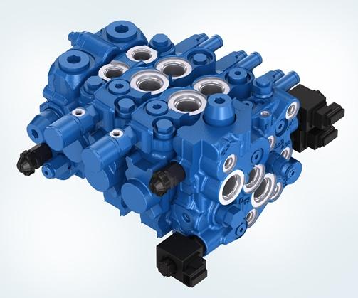 Blok sterujący RS15WL z systemem LUDV firmy Bosch Rexroth o znacznie większej funkcjonalności. Fot. Bosch Rexroth