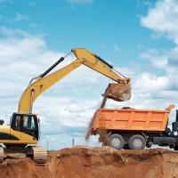 Usługi koparkami, roboty ziemne, rozbiórki i wyburzenia budynków.